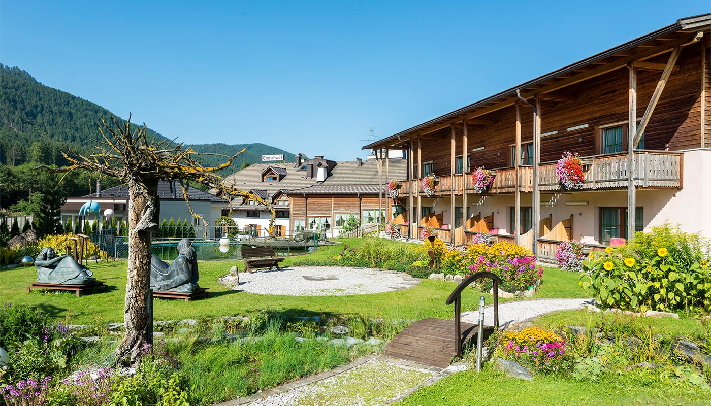 The Feng Shui Garden of Hotel Gratschwirt